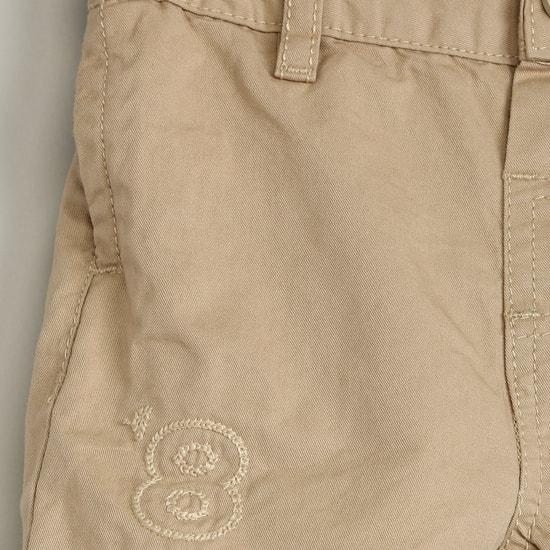 MAX Appliqued Chino Shorts