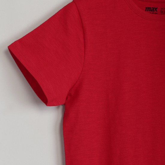 MAX Solid Crew-Neck T-shirt
