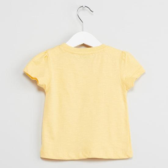 MAX Slub T-shirt with Embroidery