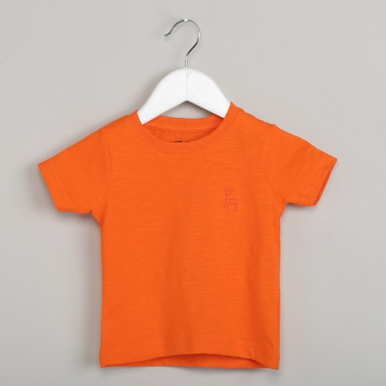MAX Solid Short Sleeve Top