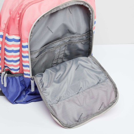 MAX Striped Backpack