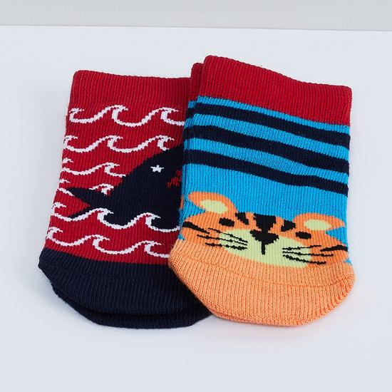 MAX Printed Socks - Pack of 2 - 2-4Y