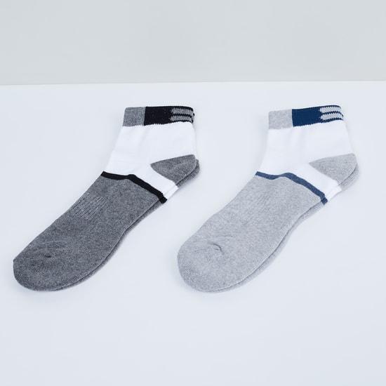 MAX Colourblock Anklet Socks - Pack of 2 Pcs.