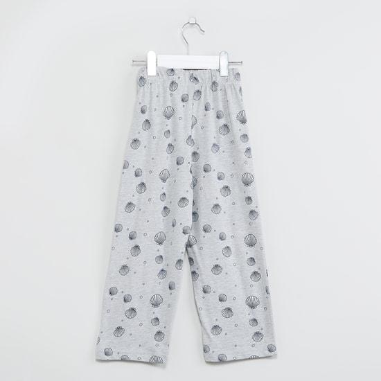 MAX Graphic Print Lounge T-shirt with Pyjamas - Set of 2 Pcs.
