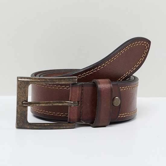 MAX Textured Casual Leather Belt