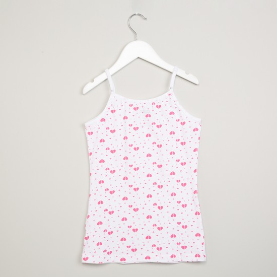 MAX Printed Camisole- Pack of 2 Pcs.