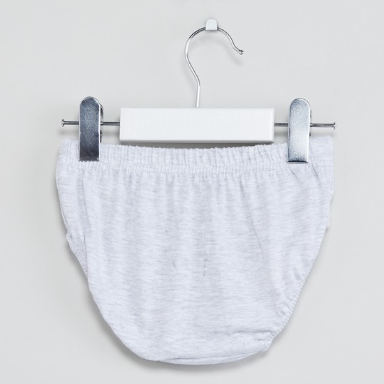 MAX Solid Knitted Briefs - Pack of 3 Pcs.