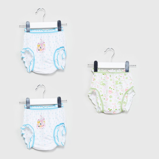 MAX Printed Panties - Set of 3 Pcs.