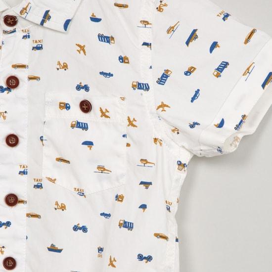 MAX All-Over Print Short Sleeve Shirt