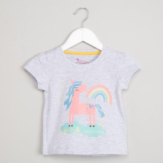 MAX Graphic Print Short Sleeve T-shirt