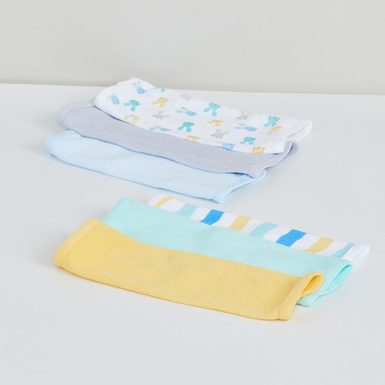 MAX Printed Washcloth - Set of 6