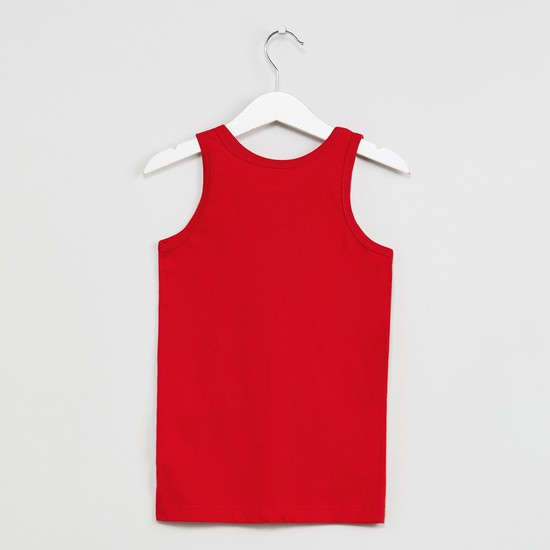 MAX Printed Round Neck Vest- Set of 2 Pcs.