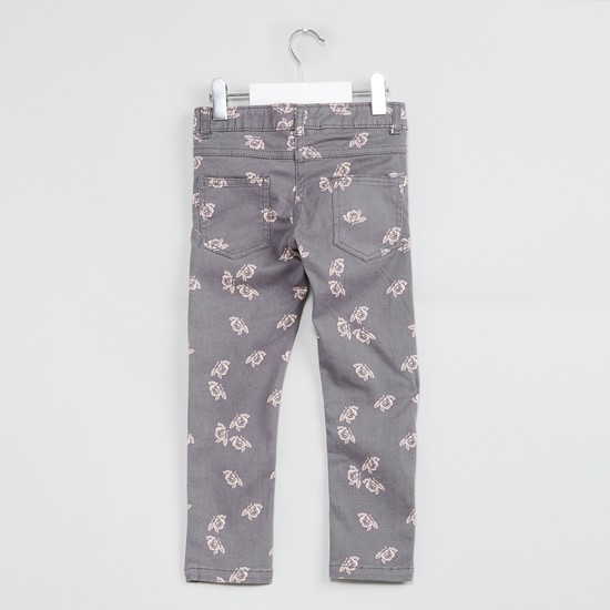 MAX Floral Print Jeans