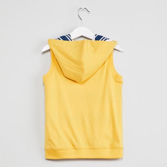 MAX Sleeveless Reversible Sweatshirt