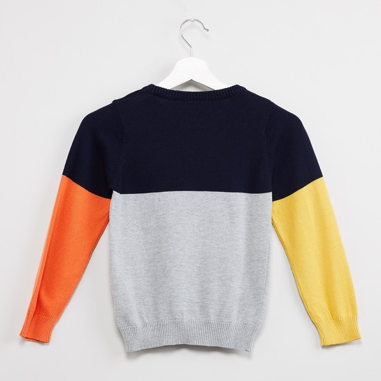 MAX Colourblock Full Sleeves T-shirt