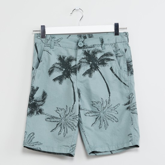 MAX Tropical Print Shorts