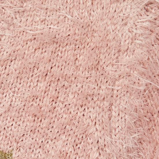 MAX Fuzzy Flat-Knit Sweater