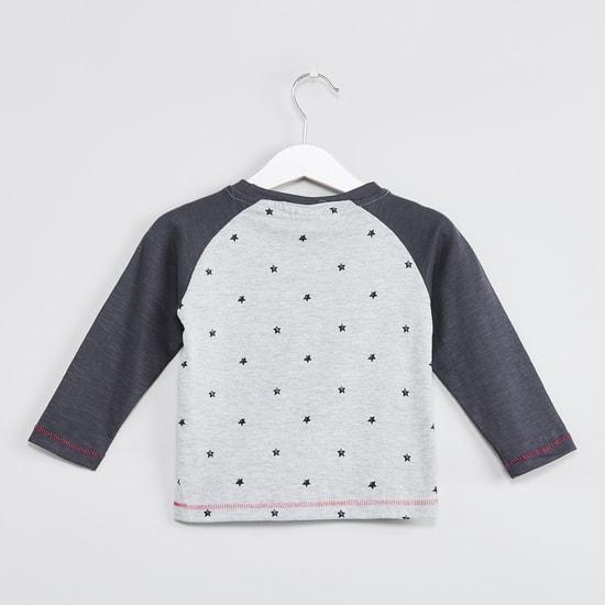 MAX Printed Raglan Sleeves T-shirt
