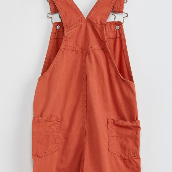 MAX Solid Full Length Dungarees