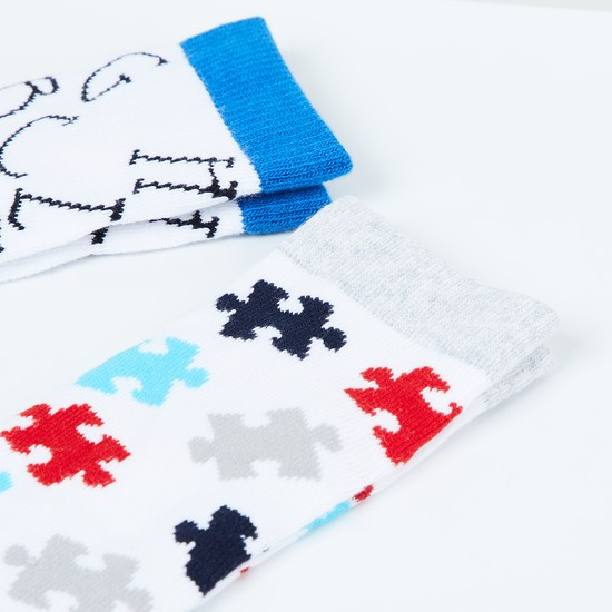 MAX Printed Socks - Pack of 2 Pcs.