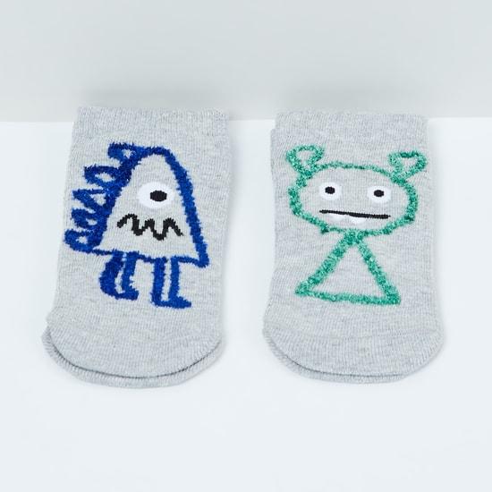 MAX Embellished Socks- Set of 2 - 5-7Y
