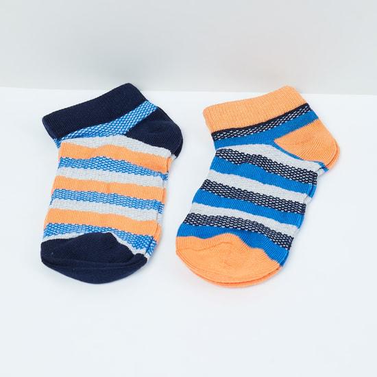 MAX Striped Socks- Set of 2 - 7-10Y