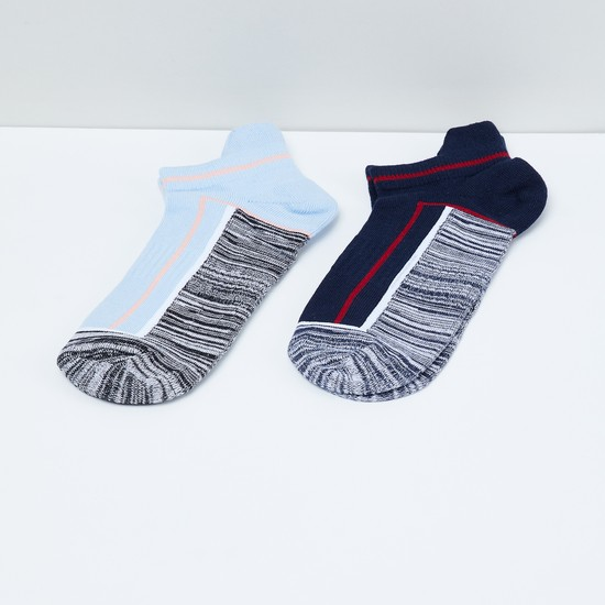 MAX Colourblock Socks - Pack of 2 Pairs