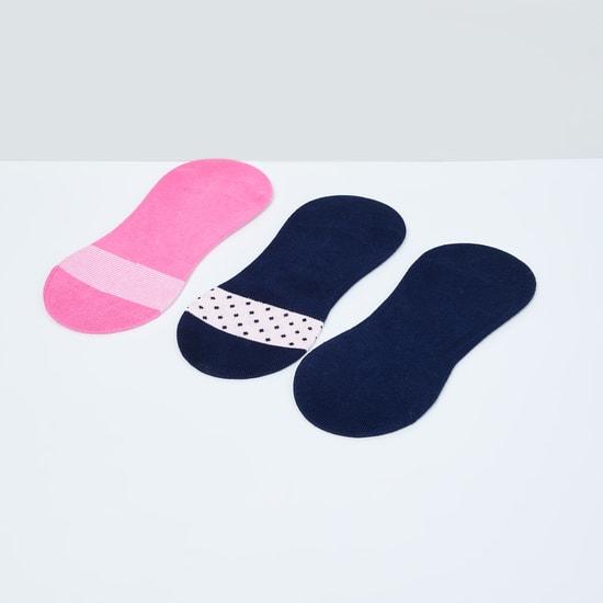 MAX Printed No-Show Socks - Pack of 3 Pcs.