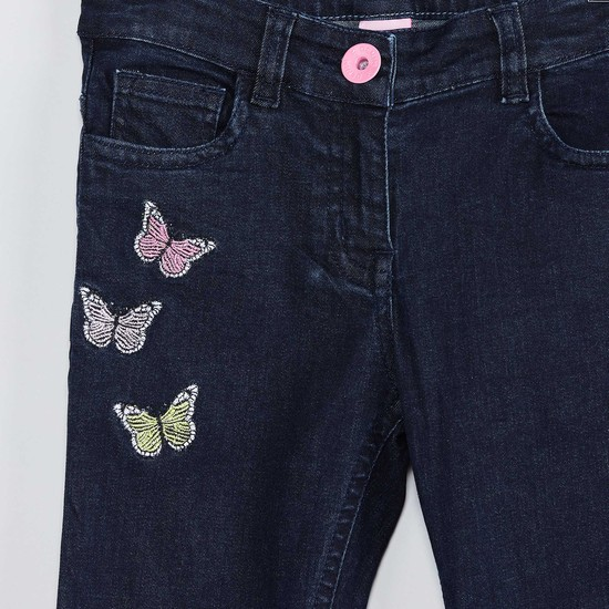 MAX Embroidered Jeans