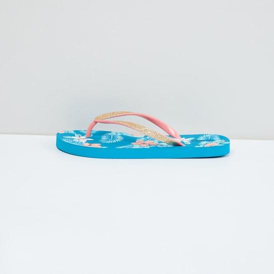 MAX Tropical Print Flip-Flops
