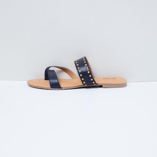 MAX Studded Flat Sandals