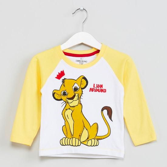MAX Graphic Print Raglan Sleeves T-shirt