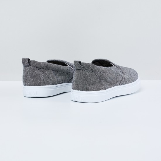 MAX Heathered Slip-On Casual Shoes