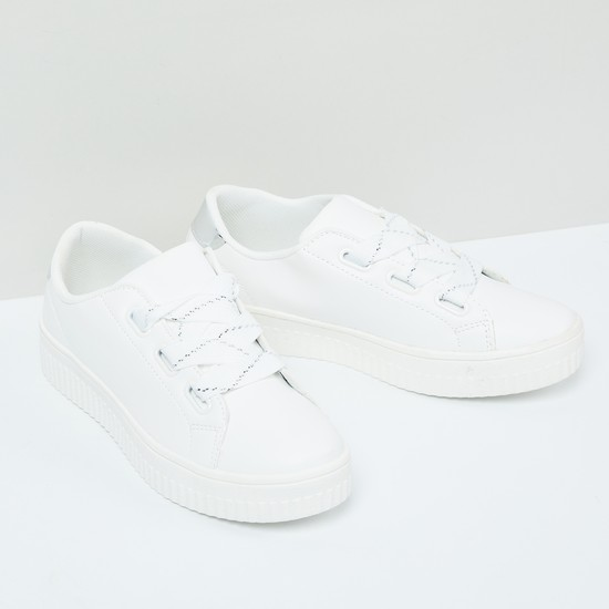 MAX Lace-Up Chunky Shoes