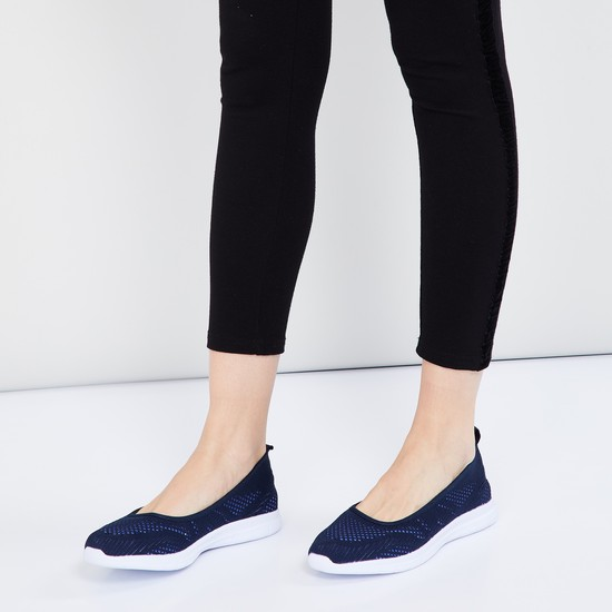 MAX Textured Casual Slip-On Shoes