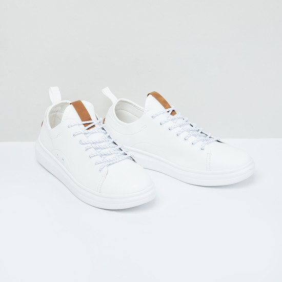 MAX Solid Lace Up Shoes