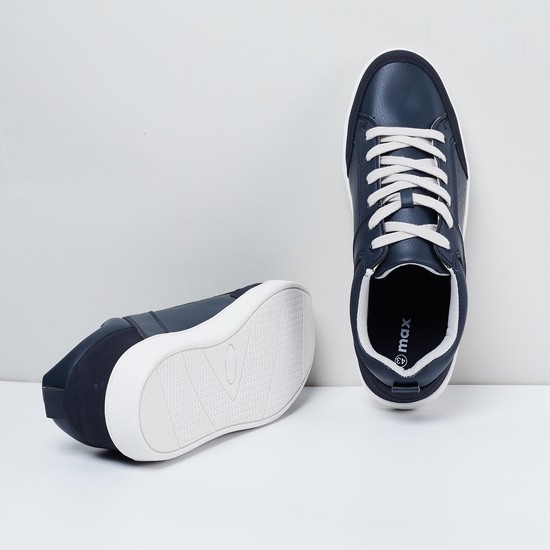 MAX Panelled Lace-Up Sneakers