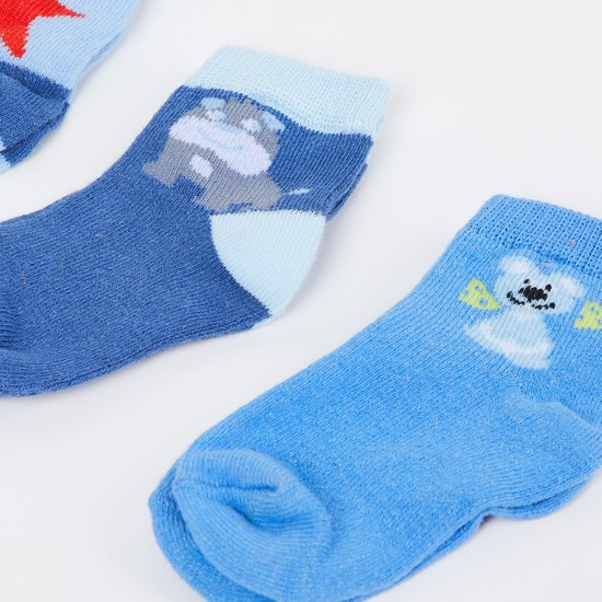 MAX Patterned Knit Socks - Pack of 3
