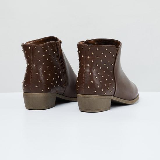 MAX Embellished Chukka Boots