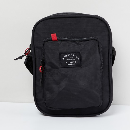 MAX Sling Bag with Printed Patch