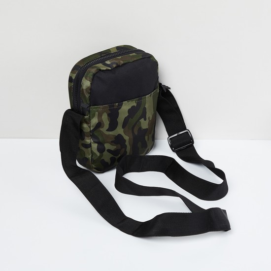MAX Camouflage Print Sling Bag