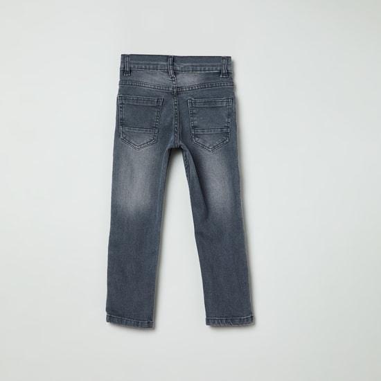 MAX Applique Slim Fit Jeans