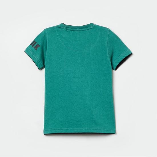 MAX Avengers Print Short Sleeves T-shirt
