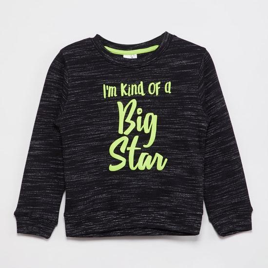 MAX Printed Yarn-Dyed Sweatshirt