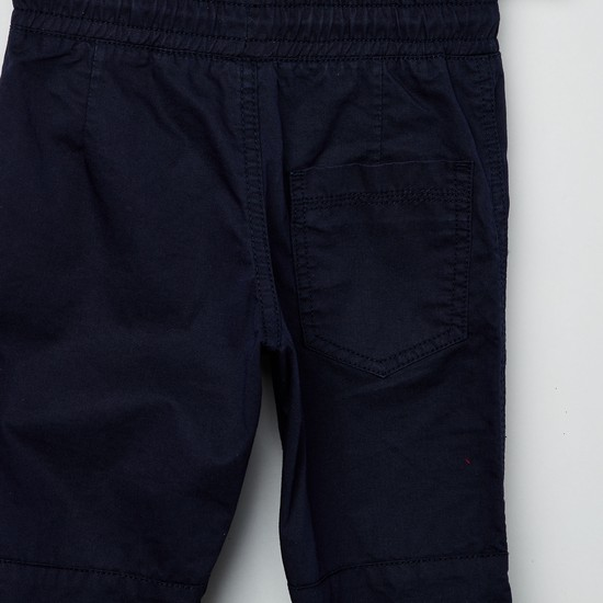 MAX Panelled Drawstring Waist Trousers