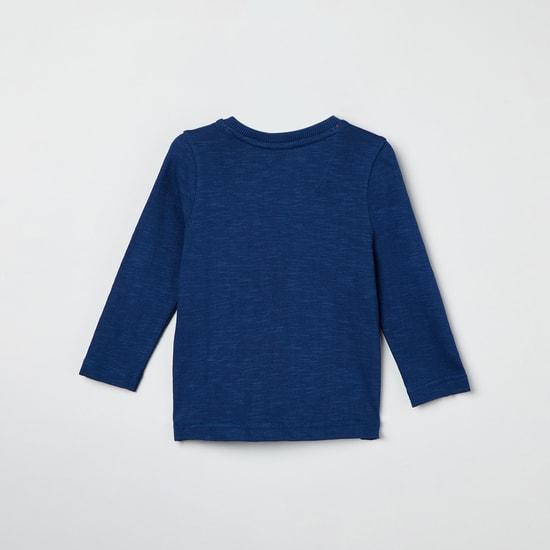 MAX Applique Detail Full Sleeves T-shirt