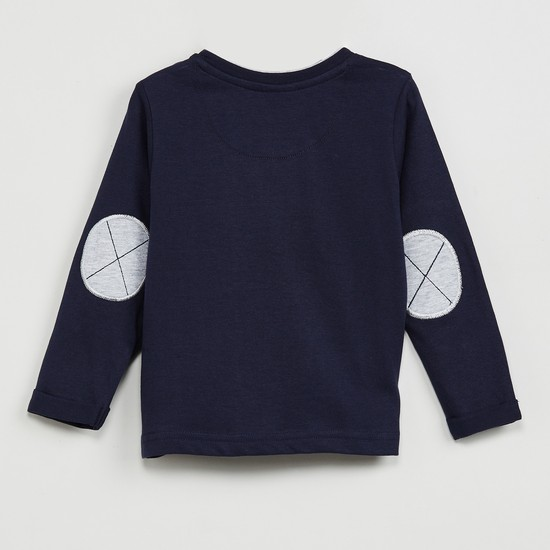 MAX Applique Detail Full Sleeves T-shirt