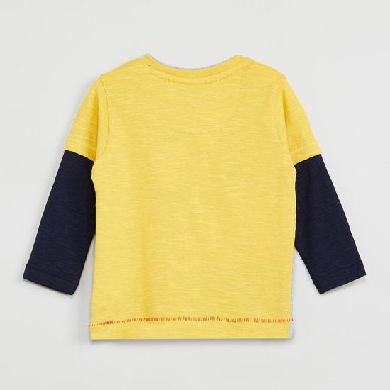 MAX Applique Detail Twofer T-shirt