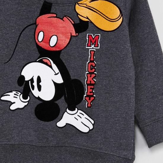MAX Mickey Print Sweatshirt