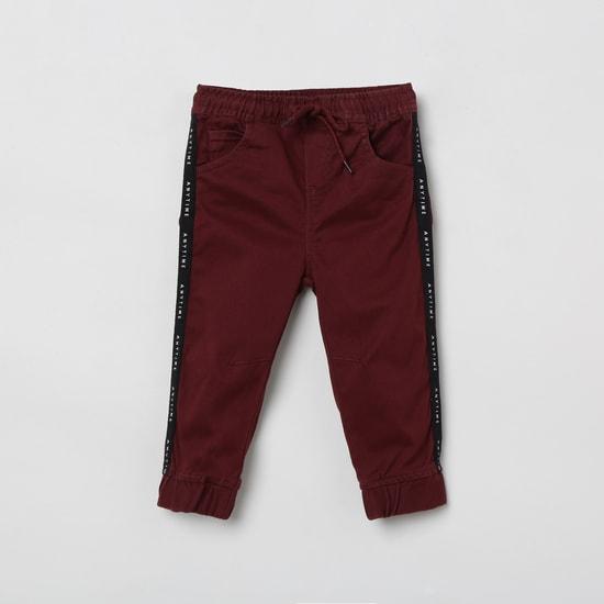 MAX Solid Elasticated Jogger Pants